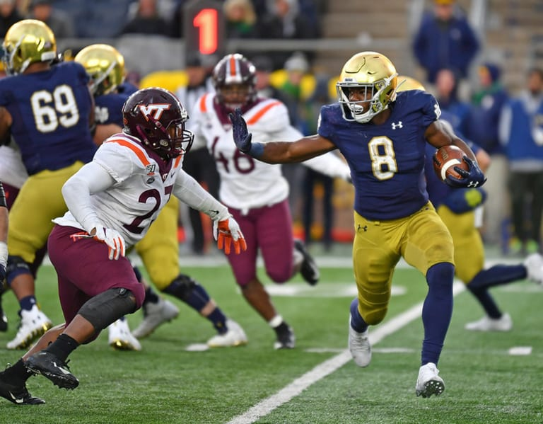 BlueAndGold - Notre Dame's 25 Most Important Players: No. 14, Jafar Armstrong