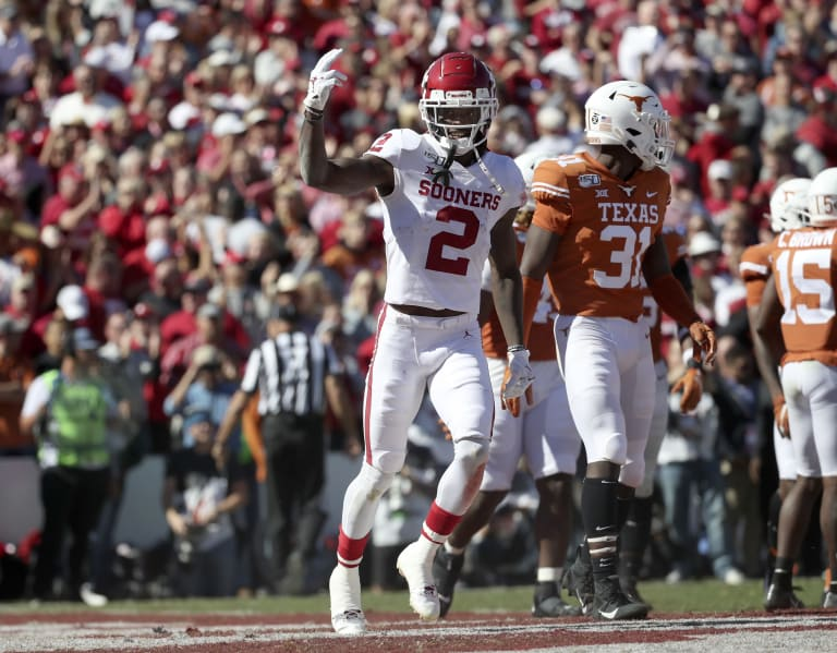 SoonerScoop - Lamb writes himself into Red River Rivalry history