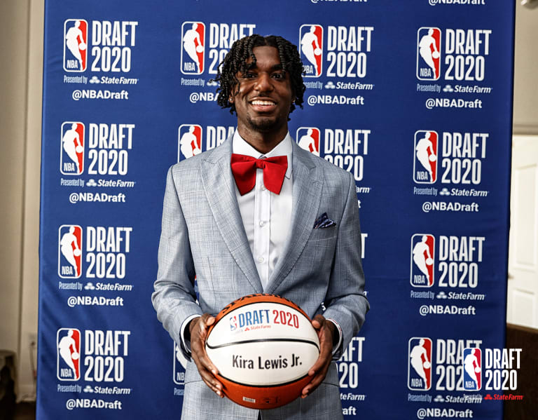 Kira Lewis Jr. selected No. 13 overall by New Orleans Pelicans in NBA draft