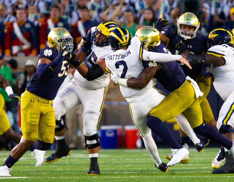 BlueAndGold - Notre Dame Vs. Michigan: On Paper