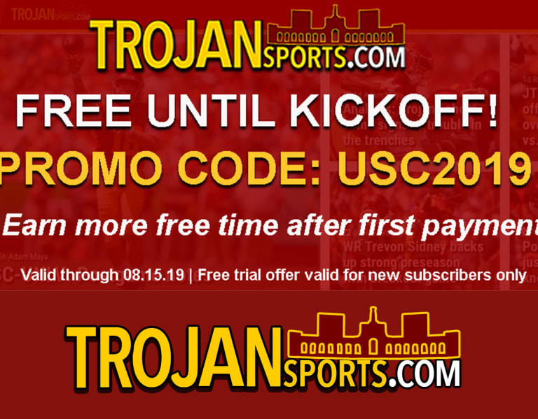 TrojanSports - FREE TRIAL through the end of August