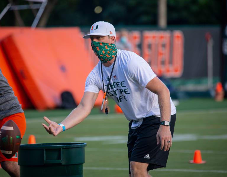 CaneSport - Rhett Lashlee confident WR group will start making explosive plays