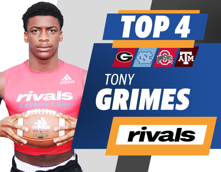 Photo of Watch Tony Grimes, five stars, break down his top four