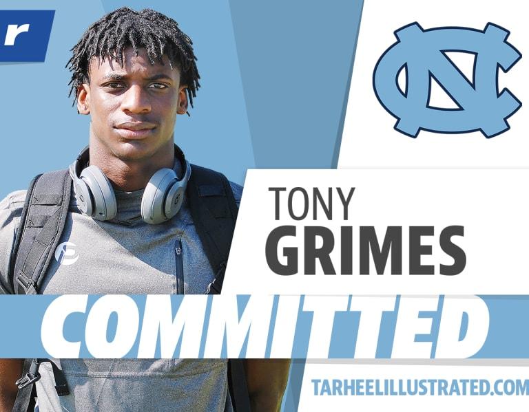Photo of five-star Tony Grimes chooses North Carolina