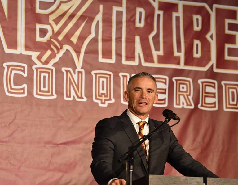 Warchant - FSU players, Haggins share first impressions of new coach Mike Norvell