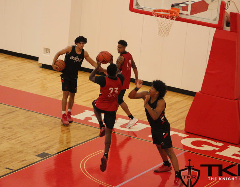 TheKnightReport - Rutgers Hoops Thursday Practice Notebook -- 9/26