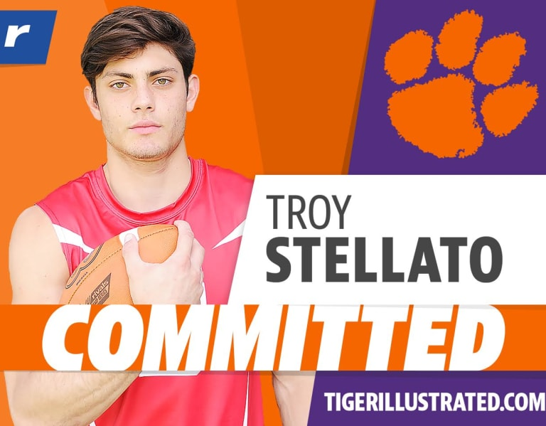 Photo of Breakdown of commitments: Troy Stellato at Clemson