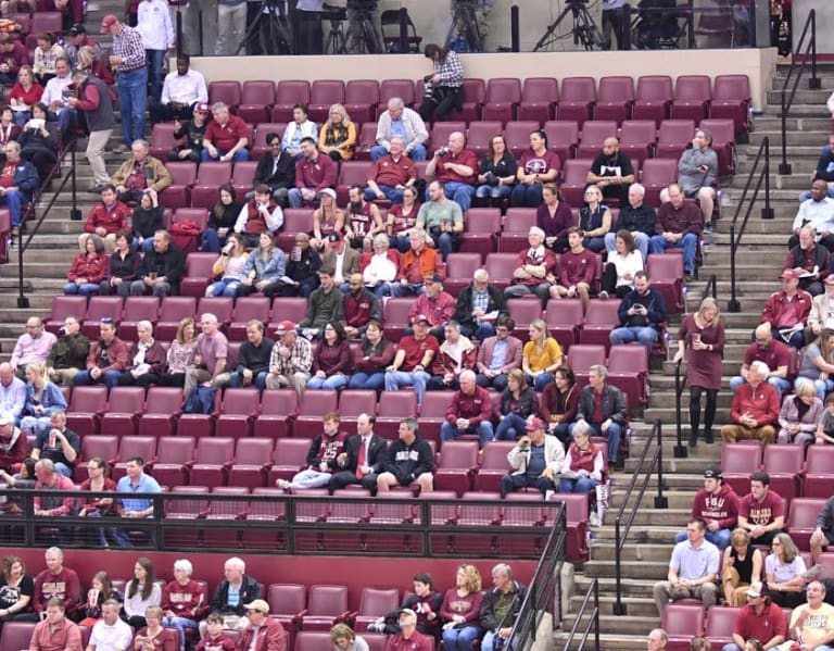 Warchant - Clark: FSU exploring options to fill premium seats during basketball games